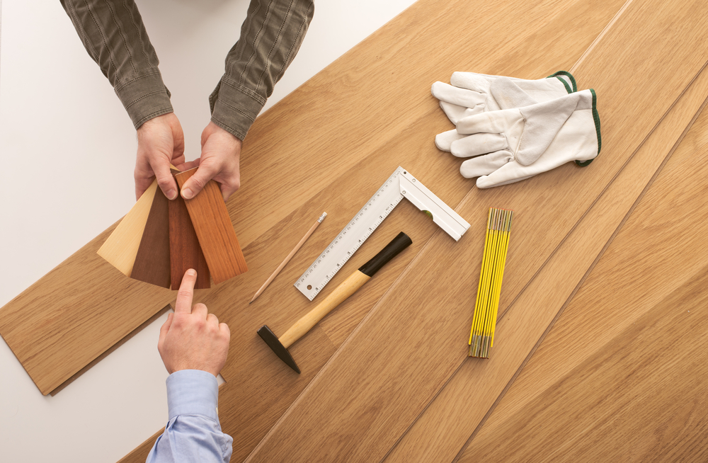 Choose hardwood flooring that matches your style