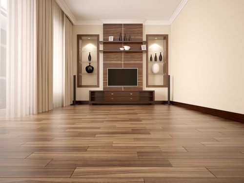 Hardwood floors are exquisite.